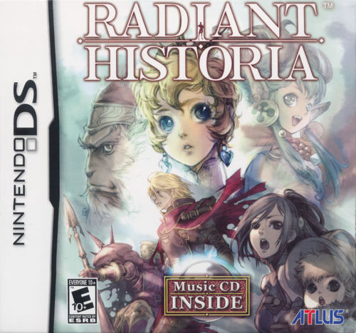 Cover for Radiant Historia.