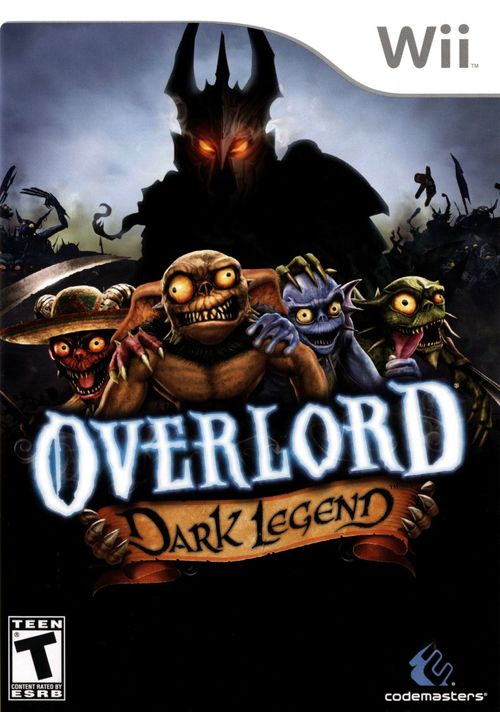 Cover for Overlord: Dark Legend.