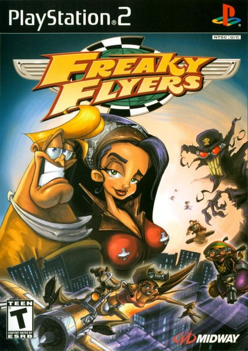 Cover for Freaky Flyers.