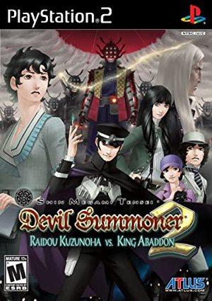 Cover for Shin Megami Tensei: Devil Summoner 2: Raidou Kuzunoha vs. King Abaddon.