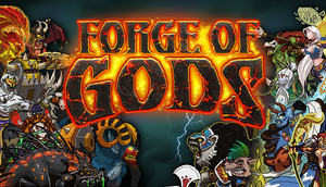 Cover for Forge of Gods.