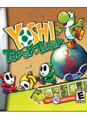 Cover for Yoshi's Universal Gravitation.