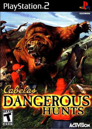 Cover for Cabela's Dangerous Hunts.