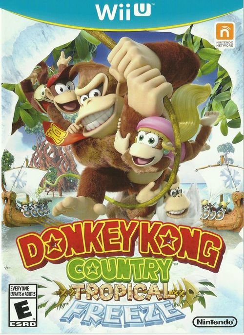 Cover for Donkey Kong Country: Tropical Freeze.