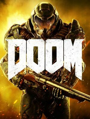 Cover for Doom (2016).