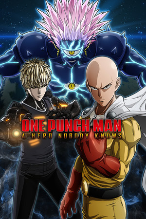 Cover for One-Punch Man: A Hero Nobody Knows.