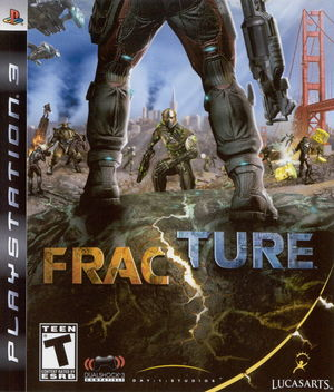 Cover for Fracture.