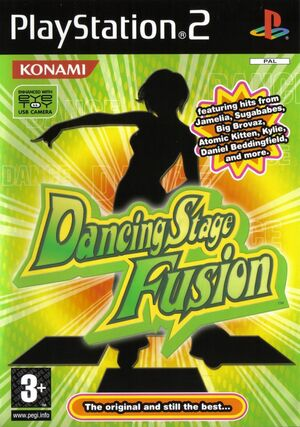 Cover for Dancing Stage Fusion.