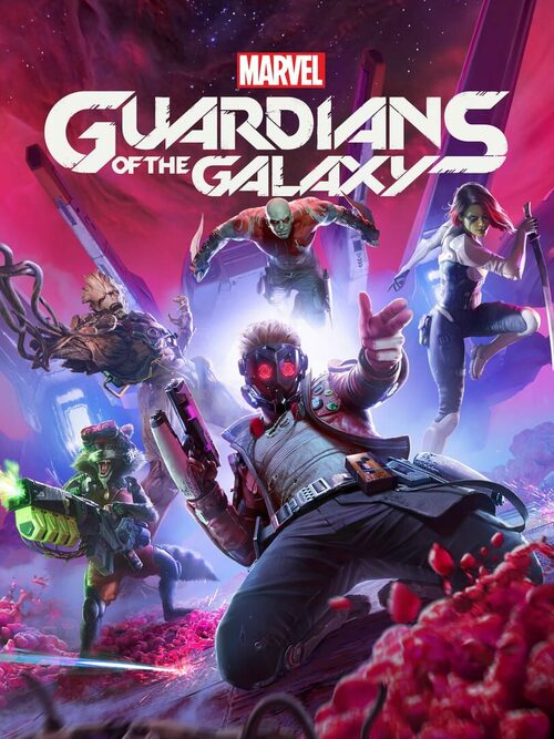 Cover for Guardians of the Galaxy.