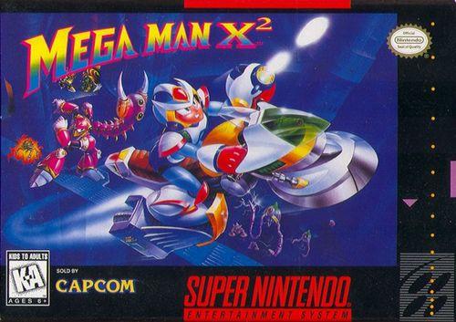Cover for Mega Man X2.