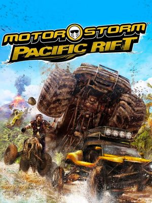 Cover for MotorStorm: Pacific Rift.