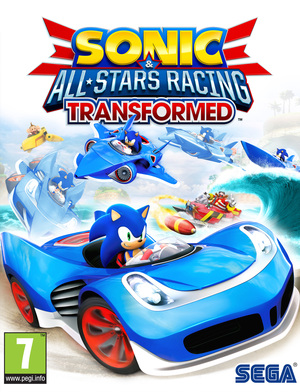 Cover for Sonic & All-Stars Racing Transformed.