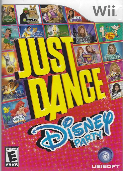 Cover for Just Dance: Disney Party.