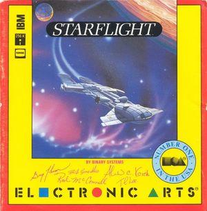 Cover for Starflight.