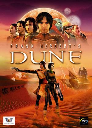 Cover for Frank Herbert's Dune.