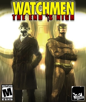 Cover for Watchmen: The End Is Nigh.
