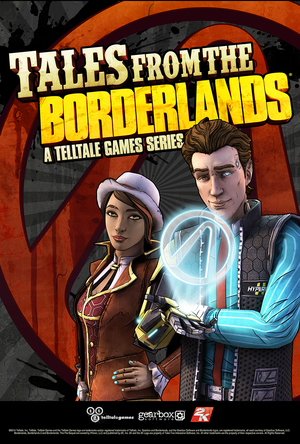 Cover for Tales from the Borderlands.