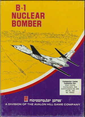 Cover for B-1 Nuclear Bomber.