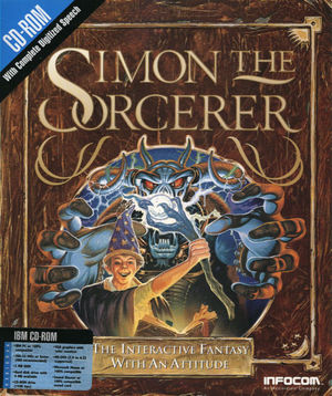 Cover for Simon the Sorcerer.