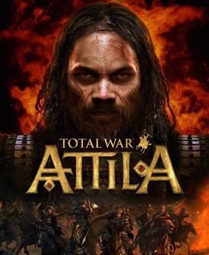 Cover for Total War: Attila.