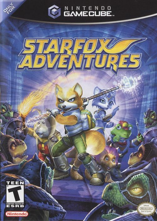 Cover for Star Fox Adventures.