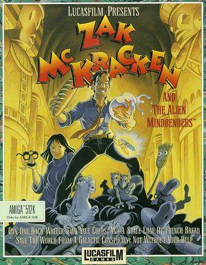 Cover for Zak McKracken and the Alien Mindbenders.