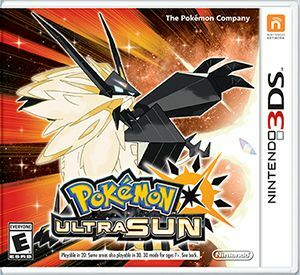 Cover for Pokémon Ultra Sun.
