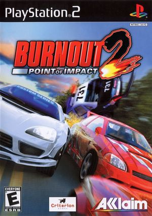Cover for Burnout 2: Point of Impact.