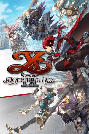 Cover for Ys IX: Monstrum Nox.