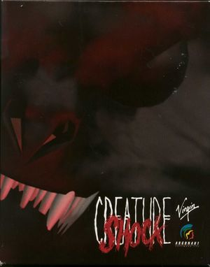Cover for Creature Shock.