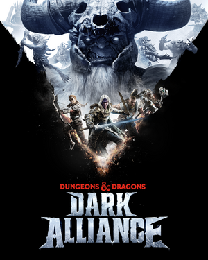 Cover for Dungeons & Dragons: Dark Alliance.