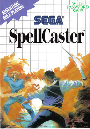 Cover for SpellCaster.