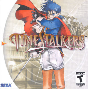 Cover for Time Stalkers.