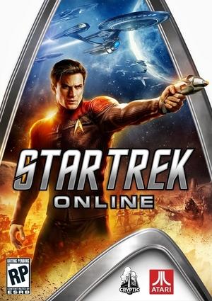 Cover for Star Trek Online.