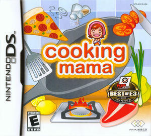 Cover for Cooking Mama.