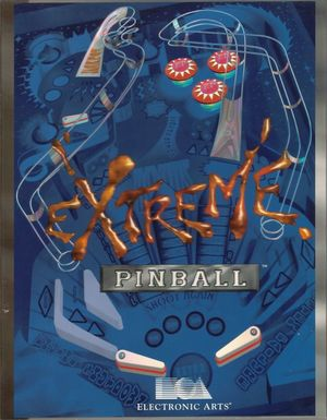 Cover for Extreme Pinball.