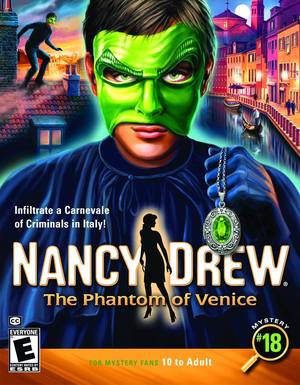 Cover for Nancy Drew: The Phantom of Venice.