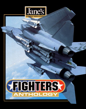 Cover for Jane's Fighters Anthology.