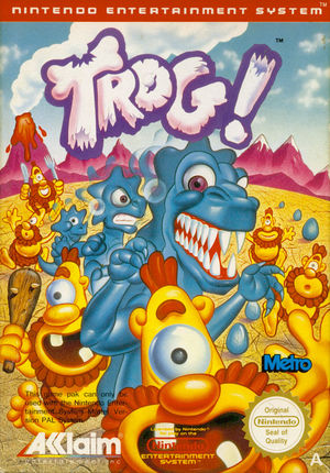 Cover for Trog.