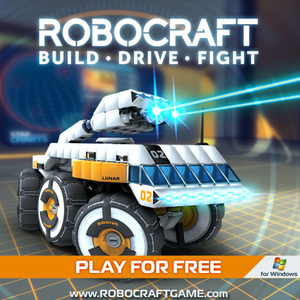 Cover for Robocraft.
