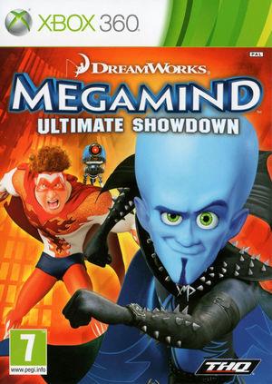 Cover for Megamind.