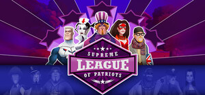 Cover for Supreme League of Patriots.