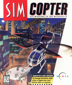 Cover for SimCopter.