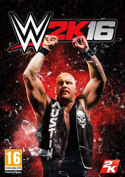 Cover for WWE 2K16.