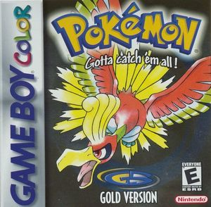 Cover for Pokémon Gold.