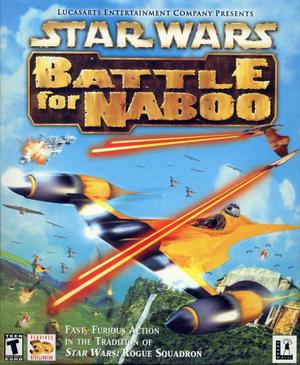 Cover for Star Wars: Episode I: Battle for Naboo.