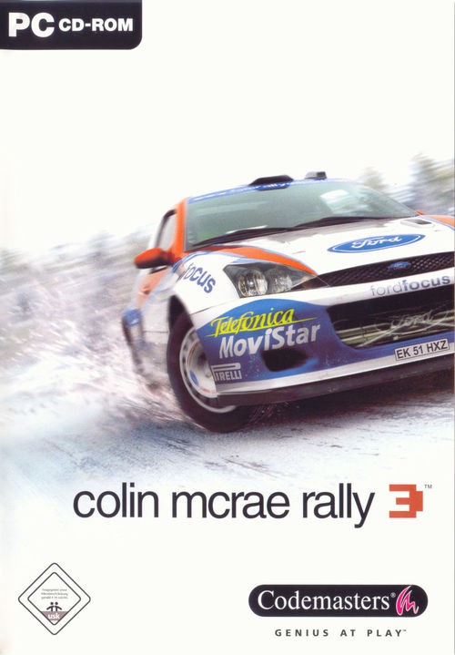 Cover for Colin McRae Rally 3.