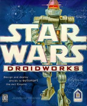 Cover for Star Wars: Droid Works.