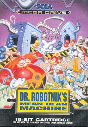 Cover for Dr. Robotnik's Mean Bean Machine.