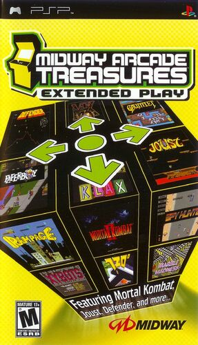 Cover for Midway Arcade Treasures: Extended Play.